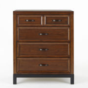 Bedford Baby Uptown Chest - Walnut