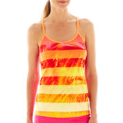 Xersion™ Print Keyhole Tank Top