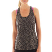 Xersion™ Keyhole Burnout Tank Top