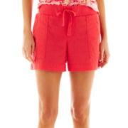 a.n.a® Linen-Blend Shorts