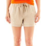jcp™ Linen Shorts