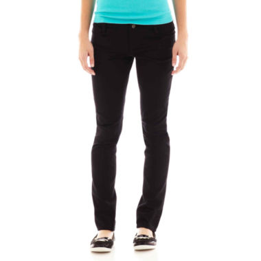 jcpenney.com | Arizona Sateen Skinny Pants