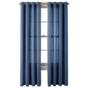 MarthaWindow™ Sidney Grommet-Top Curtain Panel