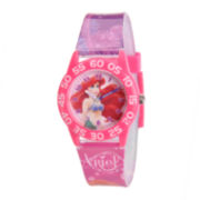 Disney Ariel Kids Time Teacher Print Strap Watch
