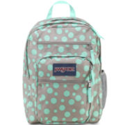 Jansport® Big Student Grey Rabbit Sylvia Dot Backpack