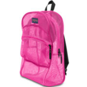 Jansport® Mesh Pink Backpack