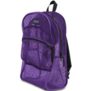 Jansport® Mesh Purple Backpack