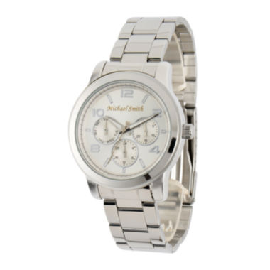 jcpenney.com | Personalized Dial Stainless Steel Watch