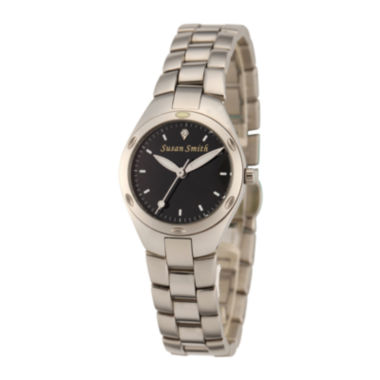 jcpenney.com | Personalized Dial Womens Stainless Steel Bracelet Watch