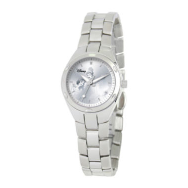 jcpenney.com | Disney Princess Womens Stainless Steel Bracelet Watch