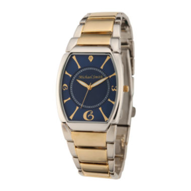 jcpenney.com | Personalized Dial Mens Diamond-Accent Two-Tone Watch