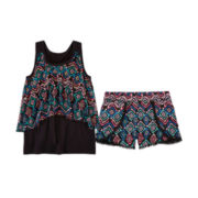 Total Girl® Tank Top or Tulip Shorts - Girls 7-16 and Plus
