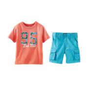 OshKosh B'gosh® Graphic Tee or Cargo Shorts - Toddler Boys 2t-5t
