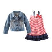 OshKosh B'gosh® Jacket or Ruffle Dress - Toddler Girls 2t-5t