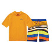 Arizona Rash Guard or Wavy Swim Trunks - Preschool Boys 4-7