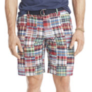IZOD® Madras Patchwork Shorts