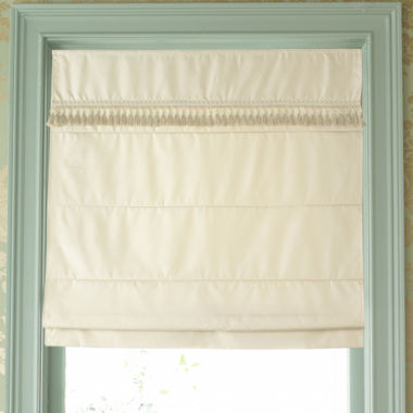 jcpenney.com | JCPenney Home™ Custom Milan Thermal Roman Shade