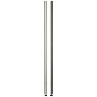 "jcpenney.com | Honey-Can-Do® 2-Pack 48"" Steel Shelving Support Poles - Chrome"