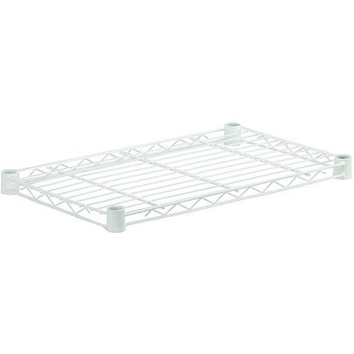 """Honey-Can-Do® 36x14"""" Steel Shelf - White"""
