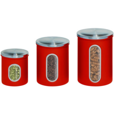 jcpenney.com | Honey-Can-Do® 3-pc. Metal Storage Canister Set
