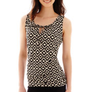 Alyx® Sleeveless Tie-Front Knit Top