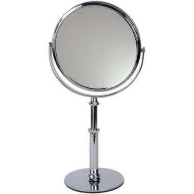 "jcpenney.com | Harry D. Koenig 10x Magnifying 6"" Chrome Stand Mirror"
