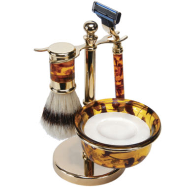 jcpenney.com | Harry D. Koenig 4-pc. Faux-Tortoiseshell Shave Set For Men