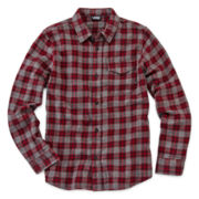 Vans® Flannel Button-Front Shirt - Boys 8-20