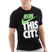 Nike® Run City Dri-FIT Graphic Tee