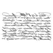 Tim Holtz® Red Rubber Stamp, Reflection Script