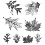 Tim Holtz® Cling Rubber Stamp Set, Falling Leaves