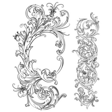 jcpenney.com | Tim Holtz® Cling Rubber Stamp Set, Fabulous Flourishes