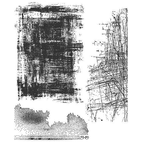 Tim Holtz® Cling Rubber Stamp Set, Slight Alterations
