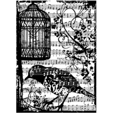 jcpenney.com | Tim Holtz® Cling Rubber Stamp, Birdsong