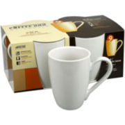 Konitz Coffee Bar Set of 4 Coffee Mugs