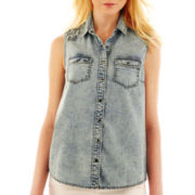 Allen B.® Denim Tank Top