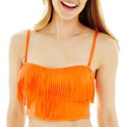 a.n.a® Fringe Midkini Swim Top
