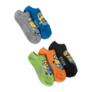 Disney 5-pk. Despicable Me No-Show Socks