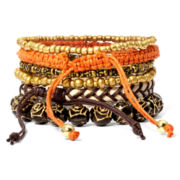 Arizona 6-pc. Assorted Bracelet Set