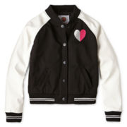 Total Girl® Varsity Jacket - Girls 6-16 and Plus