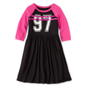 Total Girl® Raglan-Sleeve Dress - Girls 6-16 and Plus