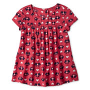 Arizona Short-Sleeve Critter Top - Girls 6-16 and Plus