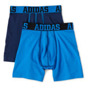 adidas® 2-pk. Sport Performance Boxer Briefs - Boys 8-20