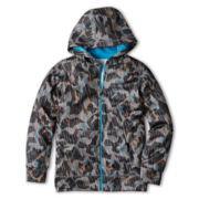 Xersion™ Camo Print Zippered Fleece Jacket - Boys 6-18