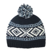 Arizona Fair Isle Cuff Beanie w/ Pom