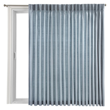 jcpenney.com | Royal Velvet® Supreme Pinch-Pleat/Back-Tab Thermal Patio Door Panel