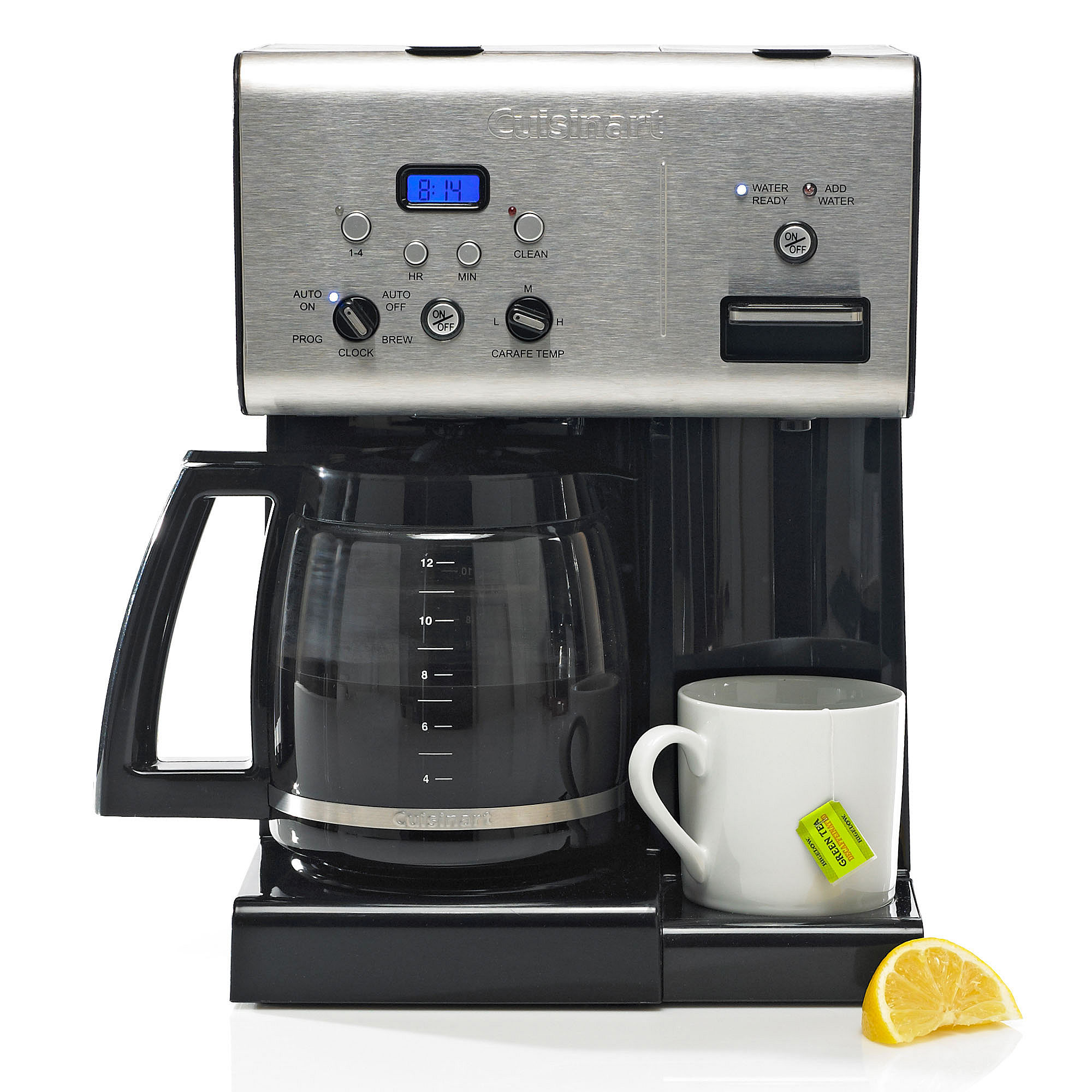 cuisinart chw 12 coffee maker 12 cup programmable with hot water system - Find it at Shopwiki