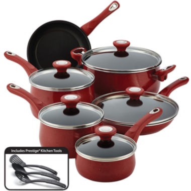 jcpenney.com | Farberware® New Traditions 14-pc. Speckled Nonstick Cookware Set