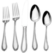 Essex 45-pc. Stainless Steel Flatware Set