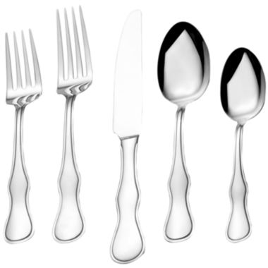 jcpenney.com | Bombay Deauville 20-pc. Stainless Steel Flatware Set